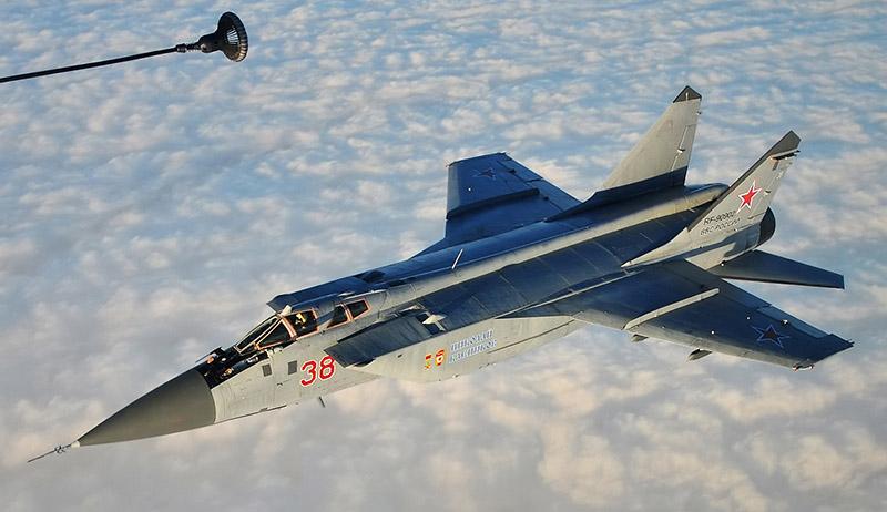 МиГ-31БМ борт №38 - «Николай Клепиков».