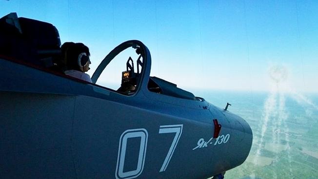 «Авиапарта» уносит в облака: наш корреспондент испытал тренажер Як-130