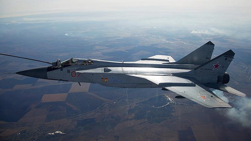 МиГ-31БМ борт №07 - «Павел Чупиков».