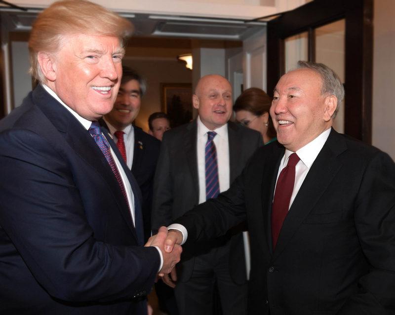 Визит в США президента Казахстана Нурсултана Назарбаева.