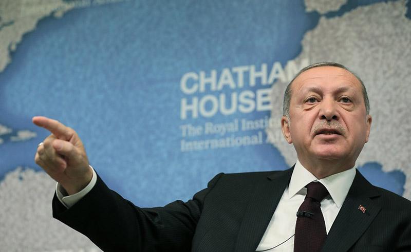 Реджеп Тайип Эрдоган назвал события в Газе геноцидом.