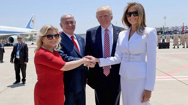 США и Израиль - дружба семьями.
