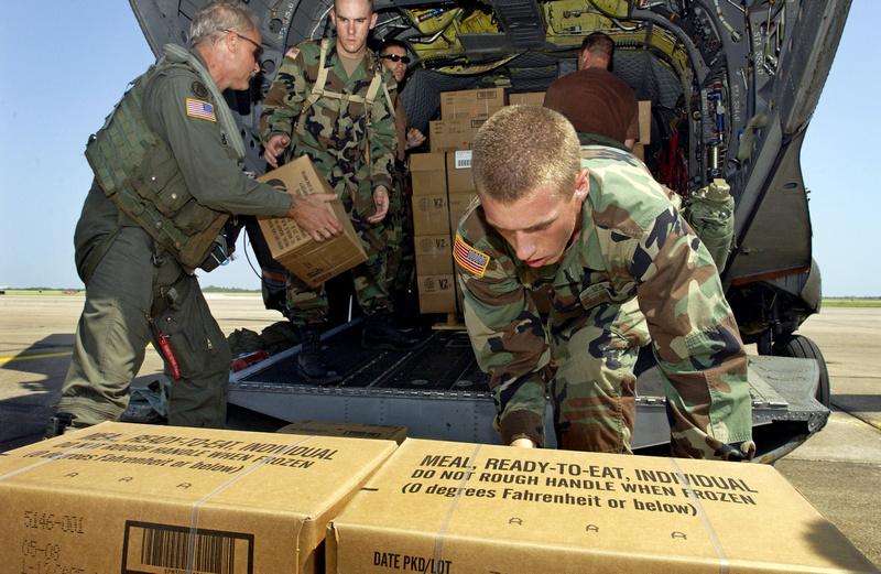 300000 американских армейских сухпайков поставлено для ВСУ.