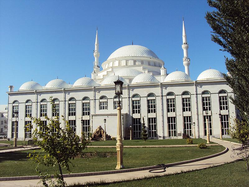 Джума-мечеть.