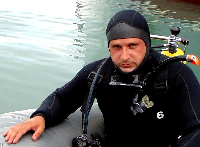 Капитан 3 ранга Сергей Скиба.