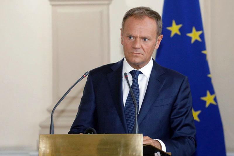 Председатель Евросовета Дональд Туск.