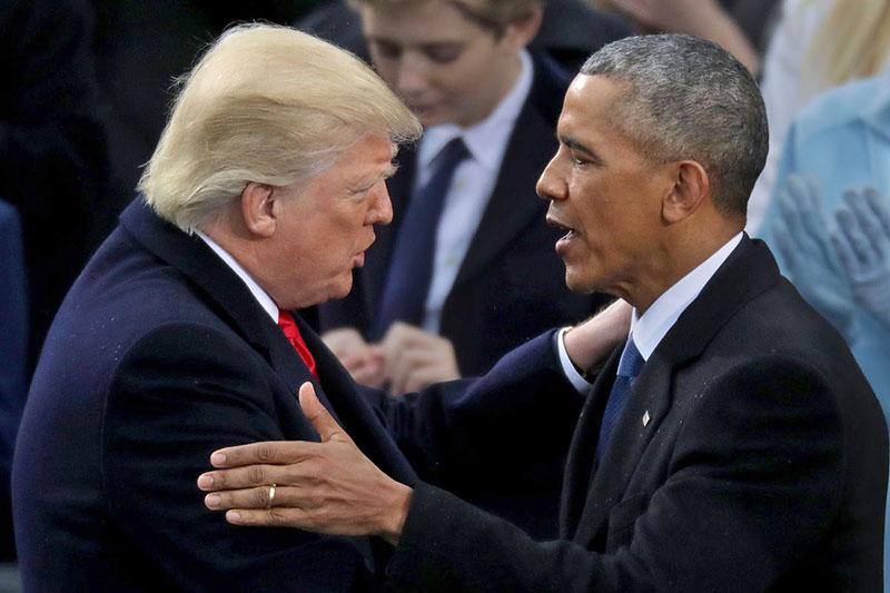 Трамп «упал» по сравнению с Обамой в глазах общественного мнения.