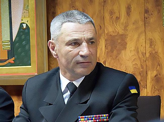 Командующий Военно-морскими силами Украины вице-адмирал Игорь Воронченко.
