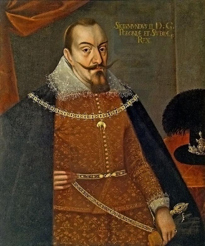 Польский король Сигизмунд III.