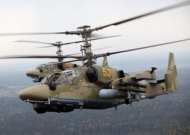 Ка-52 «Аллигатор».