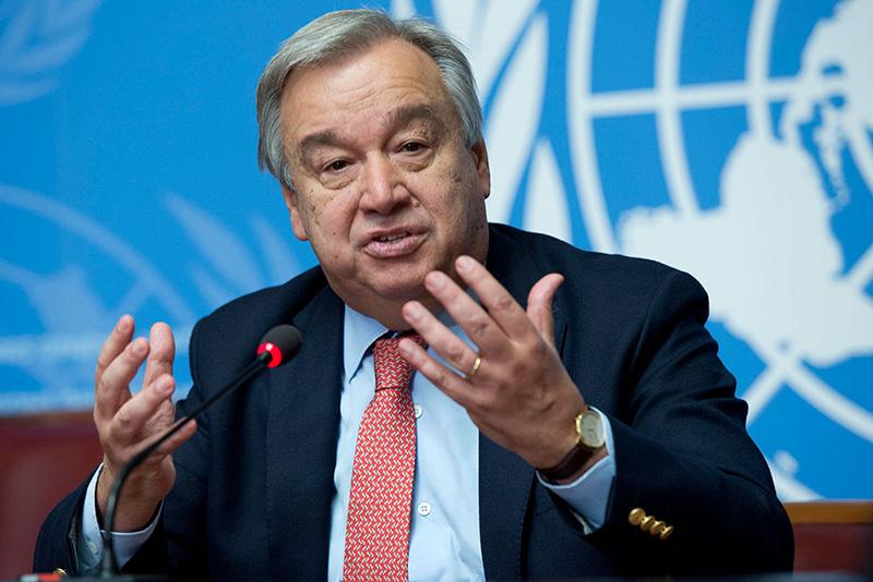 Генеральный секретарь ООН Антониу Гутерриш верит в диалог и сотрудничество между Россией и США.
