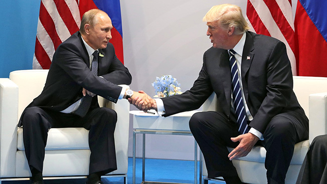 Трамп вызывает Путина на диалог