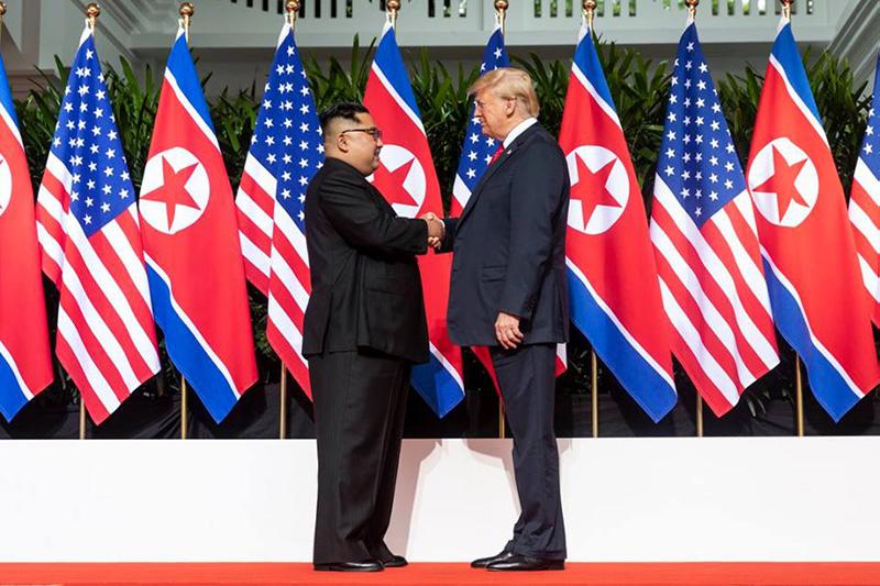 Встреча Трампа с Ким Чен Ыном - никаких конкретных решений там не достигнуто.