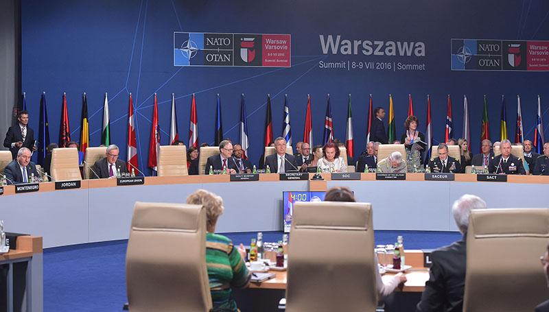 Саммит НАТО в Варшаве.