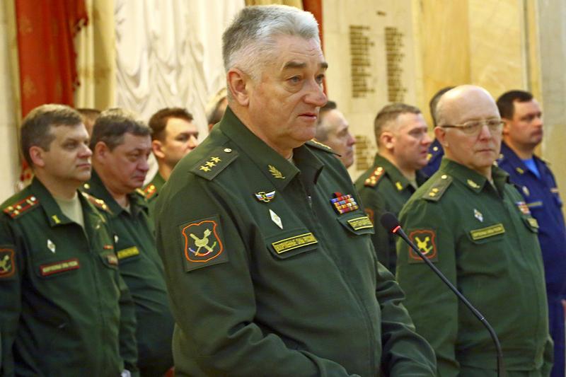 Начальник Военной академии Генерального штаба ВС РФ генерал-полковник Владимир Зарудницкий.