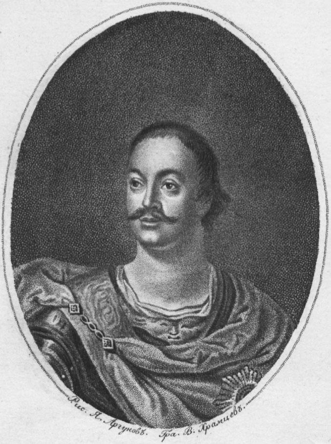 Премьер-майор Преображенского полка Иван Бутурлин.
