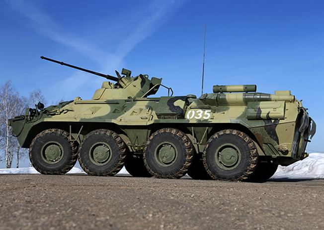 Российский БТР намного дешевле своего американского «собрата».