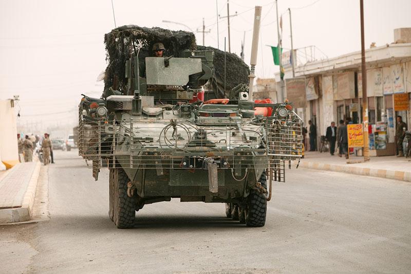 «Страйкер» в Ираке.