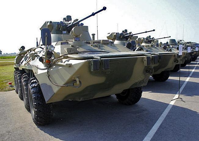 БТР-82А на четверть более живуч и лучше защищен.