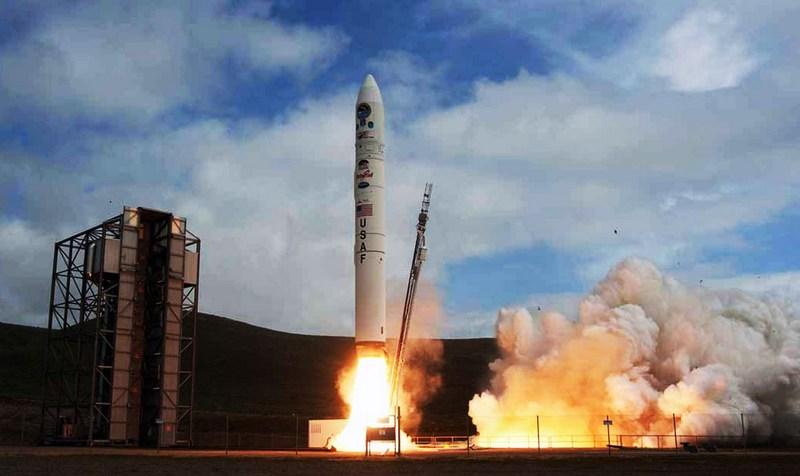 Запуск ракеты Minotaur IV.