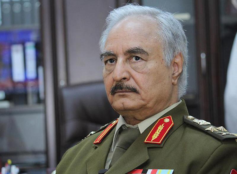 Фельдмаршал Халифа Хафтар.