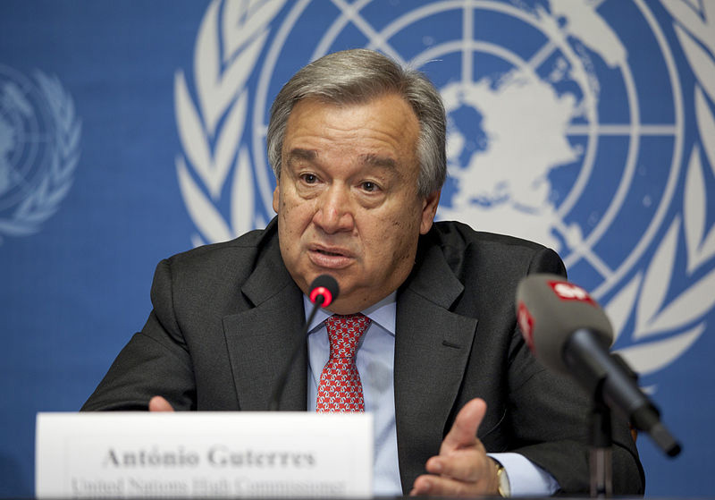 Генеральный секретарь ООН Антониу Гуттереш.
