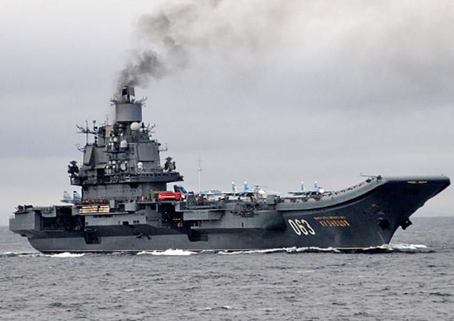 Тяжелый авианесущий крейсер «Адмирал Кузнецов.