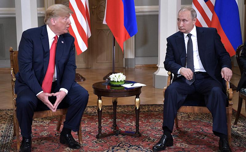 Встреча президентов США и России.