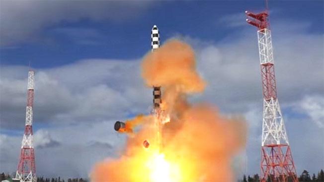 Межконтинентальную баллистическую ракету «Сармат» ставят на крыло