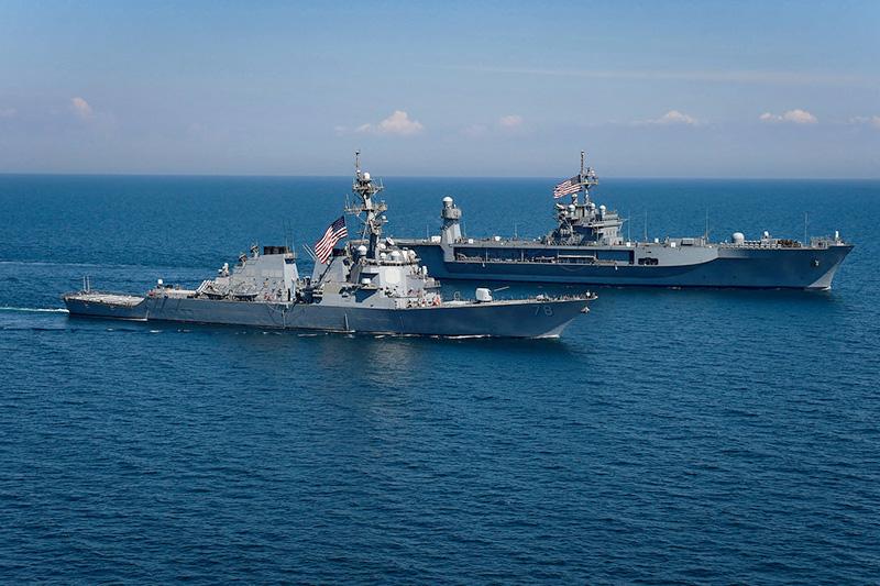 Натовские учения Sea Breeze 2018 в Черном море.