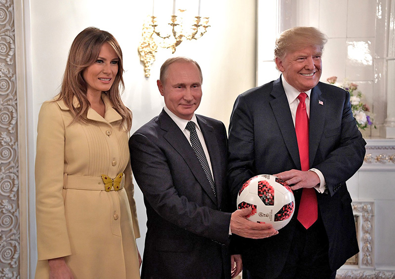 Встреча двух президентов.