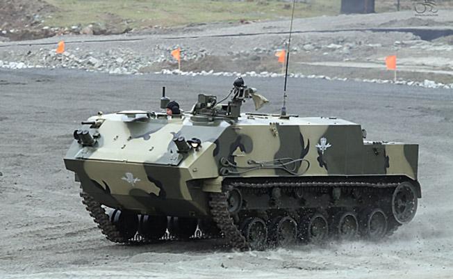Многоцелевой бронетранспортер БТР-МДМ «Ракушка».