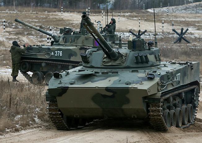 Новейшая БМД-4М «Садовница».