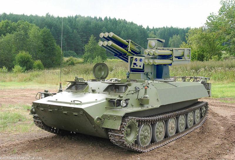 Зенитный ракетный комплекс «Птицелов».