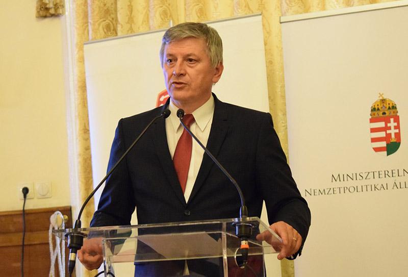 Министр Венгрии по делам Закарпатской области Иштван Греже.