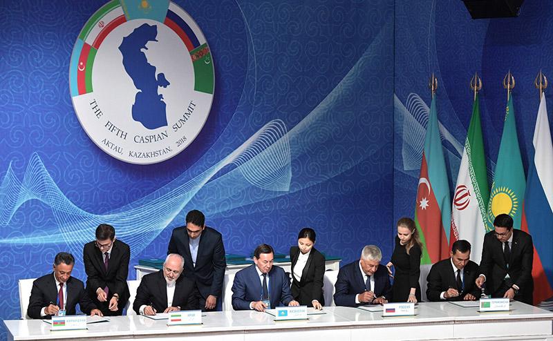 Подписание Конвенции о статусе Каспия.