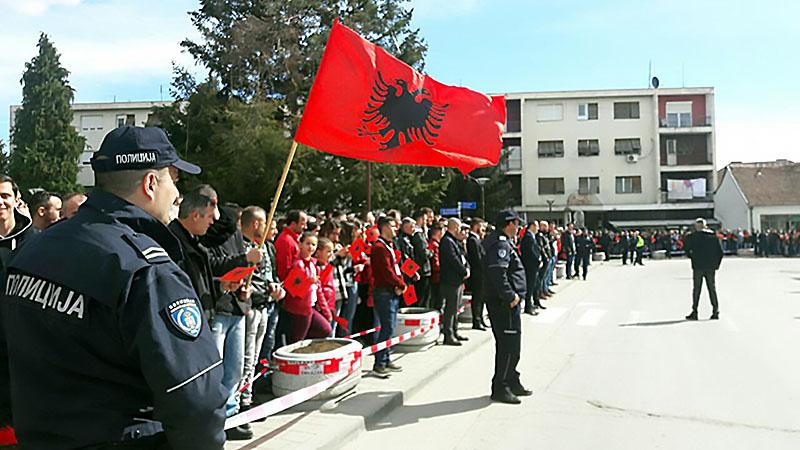 Долина Прешево за присоединение к Косово.