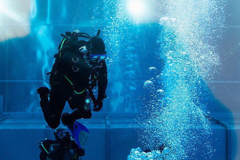 Гордость РВВДКУ - глубоководный водолазный комплекс.