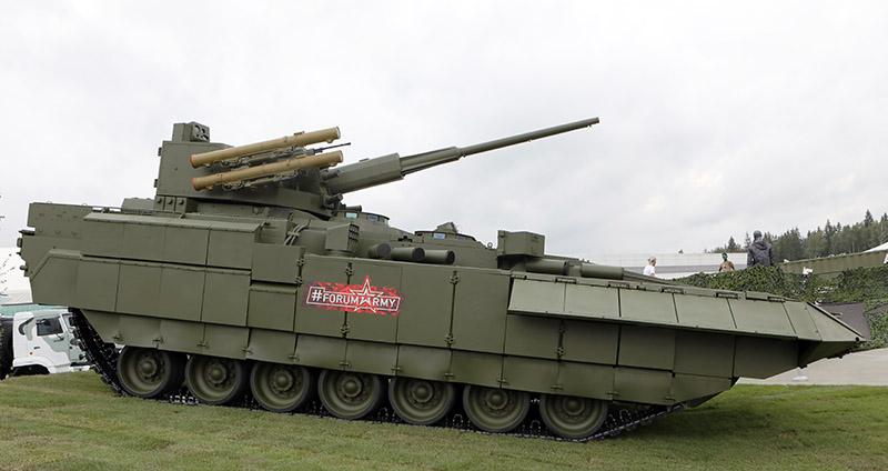 Боевая машина пехоты Т-15.