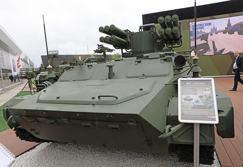 Зенитный ракетный комплекс «Сосна».