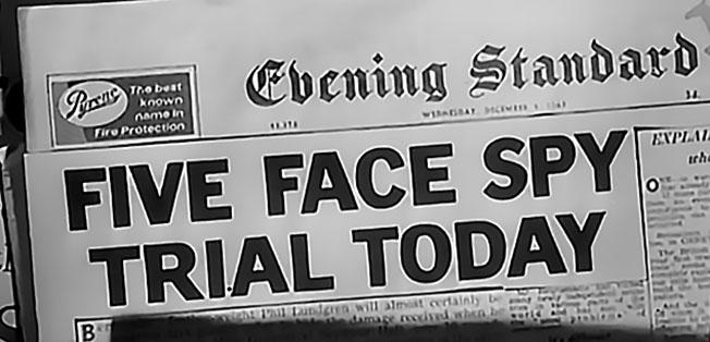 Заголовок газеты о суде.