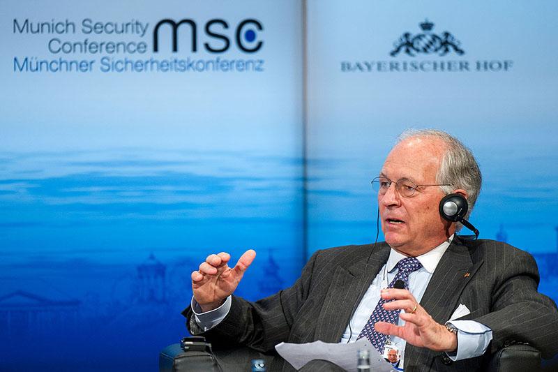 Президент Мюнхенской конференции по безопасности Вольфганг Ишингер.