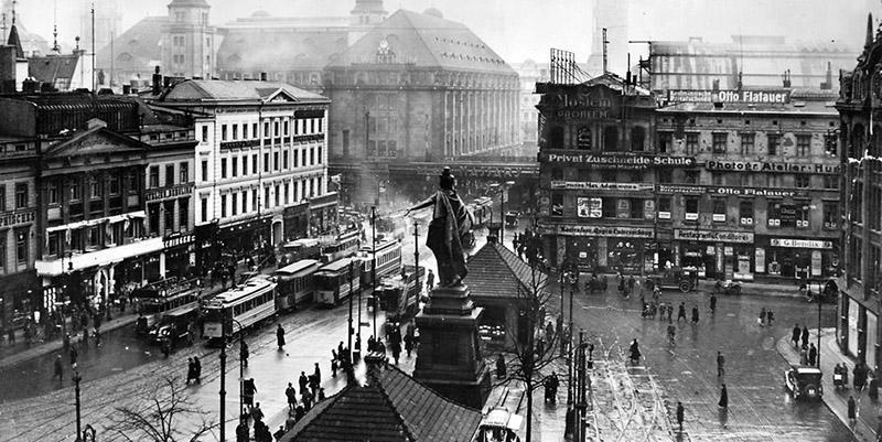 Берлин 1930-х годов: берлинцы не понимали, что их ждет ченрез десяток с небольшим лет.