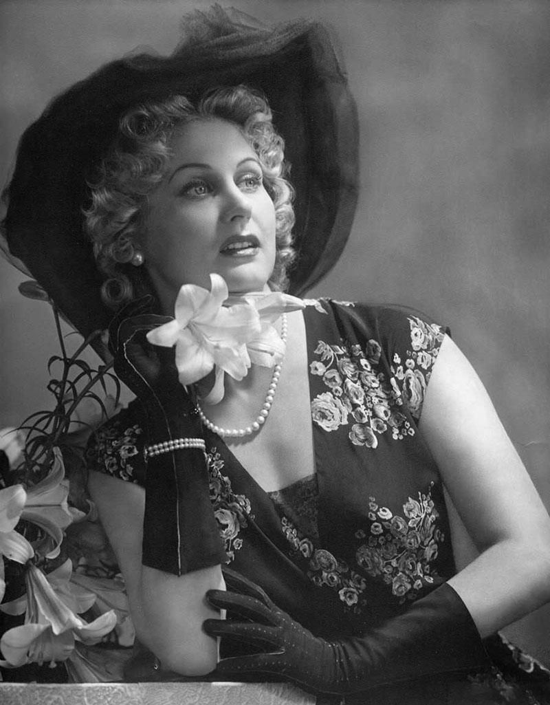 Актриса Марика Рекк - «девушка мечты» Адольфа Гитлера.