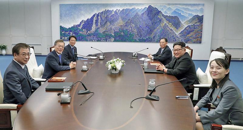 Переговоры об объединении двух Корей.