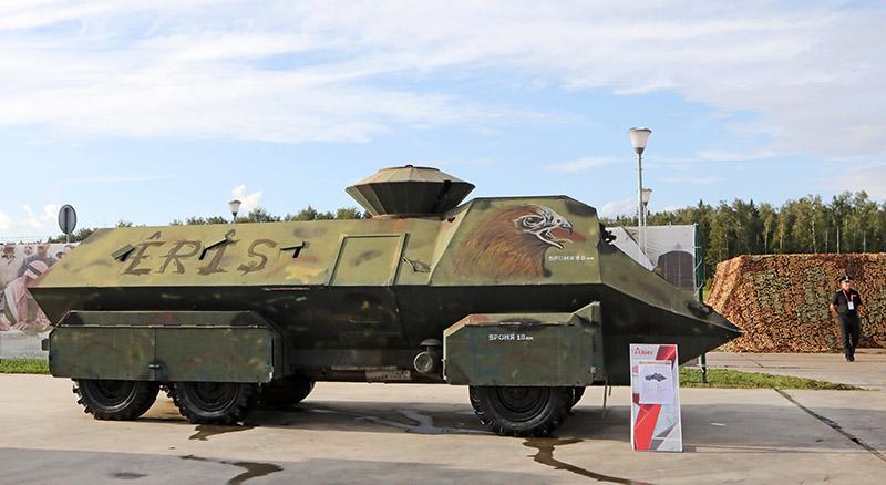 Турецкий штурмовой автомобиль Eagle Head.