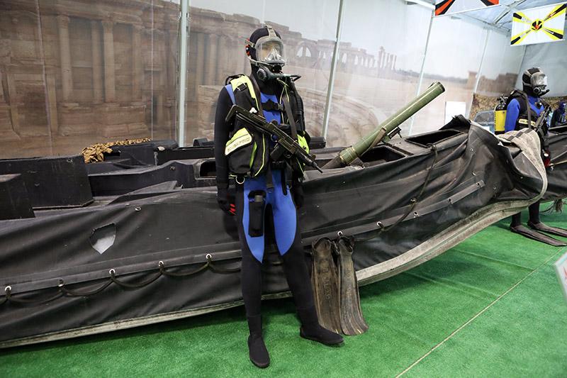 У террористов есть катера для атак с моря.