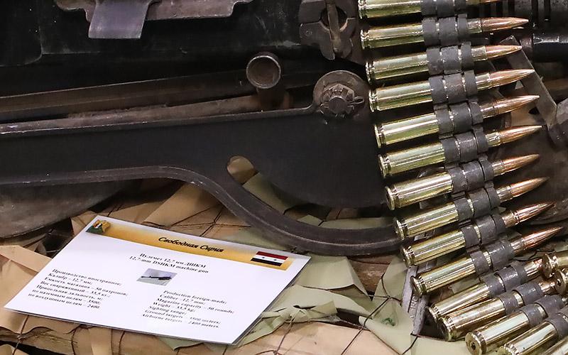 Большинство образцов оружия - западного производства.