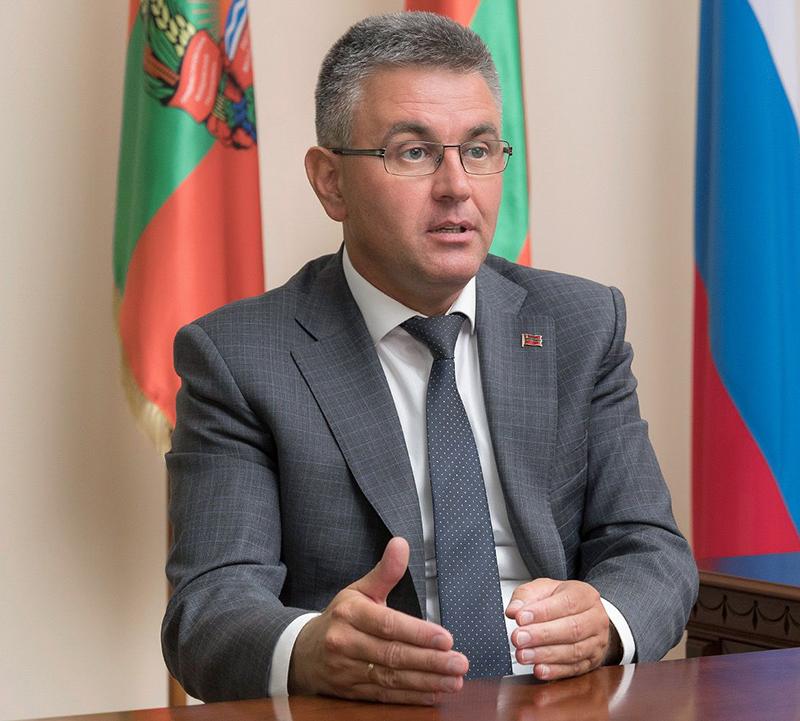 Президент Приднестровья Вадим Красносельский.