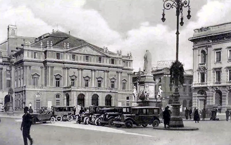 Оперный театр Ла Скала в Милане.